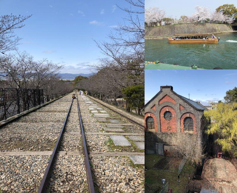 新緑の京 十石舟乗船と界隈散策