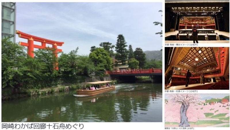 《限定》わかばの十石舟めぐりと京都 南座「春の舞台体験ツアー」!!